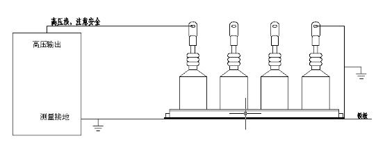同时采集电流回路的放电脉冲信号,自动判断间隙放电,锁存放电瞬间的